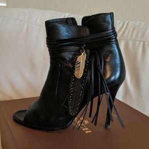 Coach Laurel Leather Heels Q6609 Size 8.5